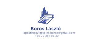 Lapostető szigetelés Logo